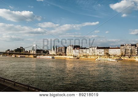 Cityscape of Budapest