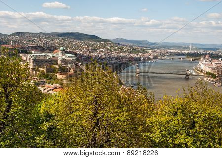 Cityscape of Budapest