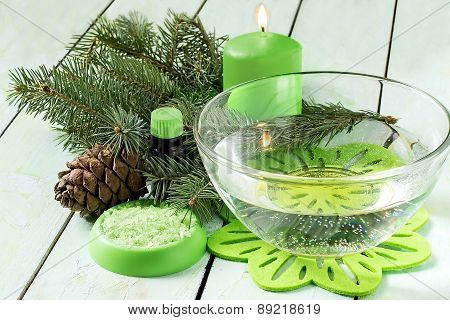 Coniferous Spa Composition
