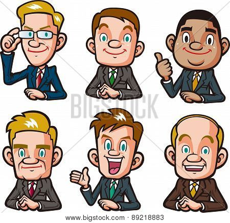 Businessman Pose Collection