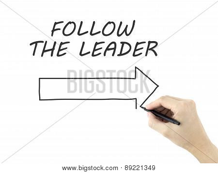 Follow The Leader Written By Man's Hand