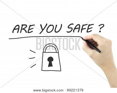 Are You Safe Written By Man's Hand