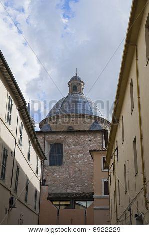 St. Feliciano Cathedral. Foligno. Umbria.