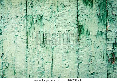 Wood Plank Painted Blue Texture For Your Background