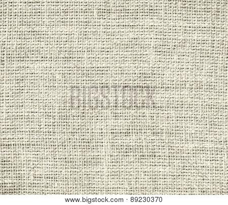 Bone color burlap texture background