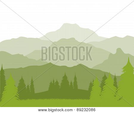 Landscape With Mountain