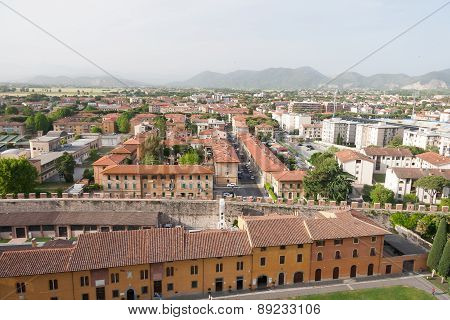 Pisa Old Town Center Cityscape