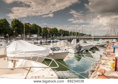 Marina Bay in Rimini, Italy