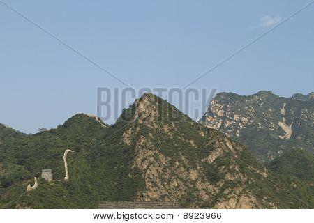 Huangyaguan Great Wall In Tianjing City, China