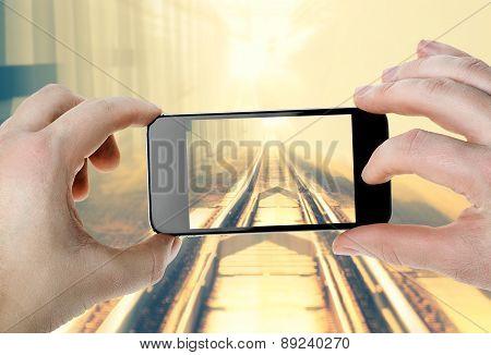 Railway - Photo On Your Smartphone