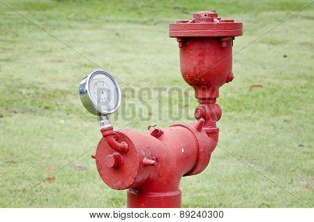 Old Water Pressure Meter