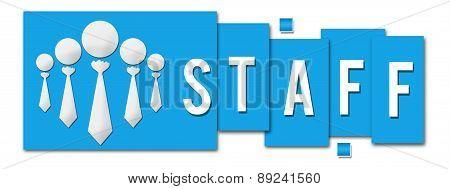 Staff Blue Stripe Icon