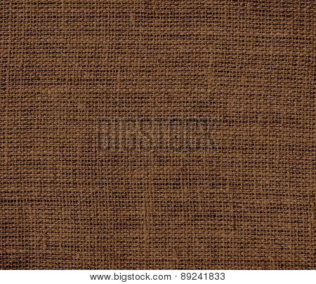 Brown-nose color burlap texture background