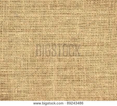 Burlywood color burlap texture background