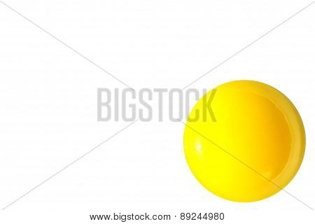 Raw Yellow Egg Yolk