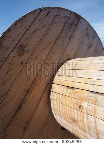 Pine timber drum for sustainable Cable and Tube packaging