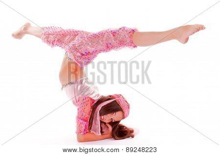 Girl In Oriental Costume