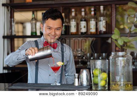 Vietnamese bartender