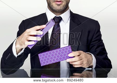 Businessman gift