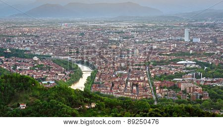 Turin (torino), Panorama From Superga