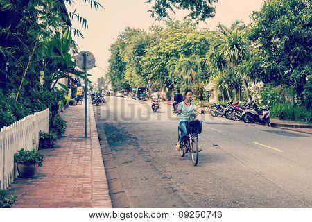 Unidentified Citizens Of Luang Prabang
