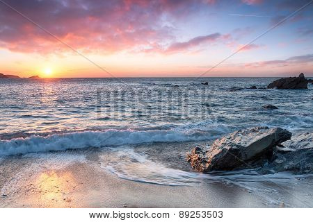 Beautiful Sunset Beach