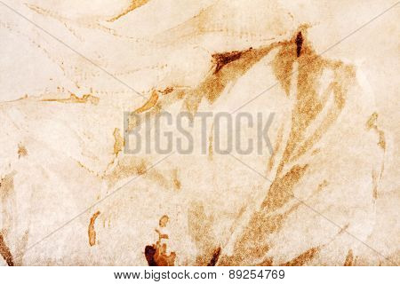 Abstract Creative Background With Brown And Yellow Spots. Great Background