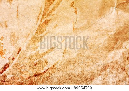 Creative Background With Brown And Yellow Spots. Great Background