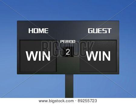 Win Win Scoreboard