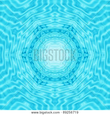 Abstract Water Ripples Pattern