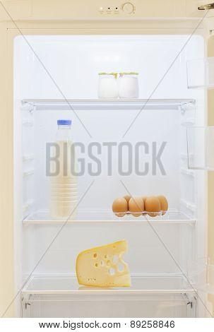 Diaries Inside Refrigerator