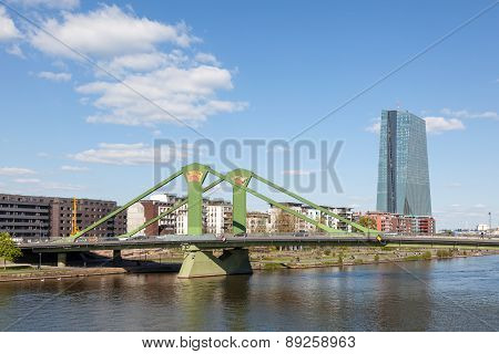 Floesser Bridge in Frankfurt Main