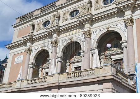 Royal Opera In Stockholm.