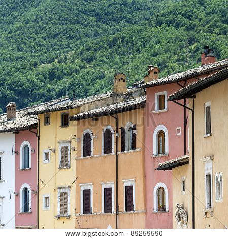 Visso (marches, Italy)