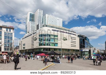 Shopping Center In Frankfurt Main