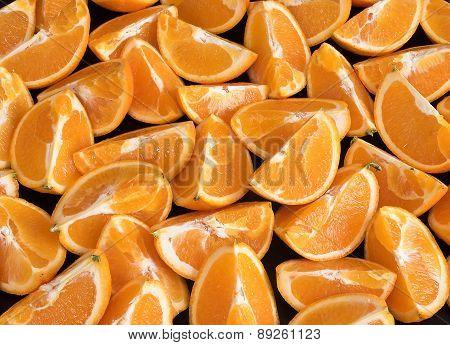 orange breeze background