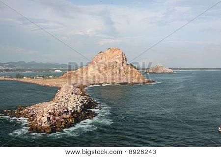 Mazatlan Mexico Bay Inlet