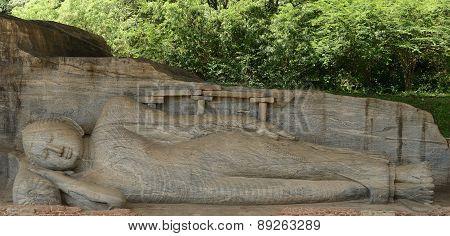 Polonnaruwa Ruin, Buddha Sculpture At Gal Vihara, Sri Lanka