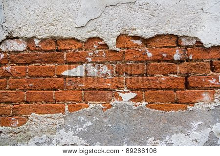 Background of brick wall texture photo.