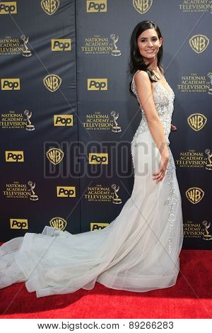 BURBANK - APR 26: Camila Banus at the 42nd Daytime Emmy Awards Gala at Warner Bros. Studio on April 26, 2015 in Burbank, California