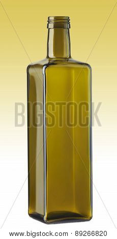 Empty Cooking Oil Glass Bottle
