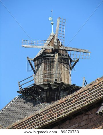 Old Windmill, France