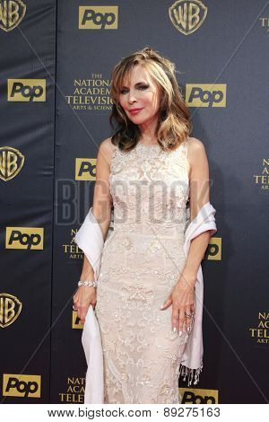 BURBANK - APR 26: Lauren Koslow at the 42nd Daytime Emmy Awards Gala at Warner Bros. Studio on April 26, 2015 in Burbank, California