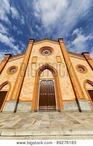 Villa Cortese Italy   Church  Varese  The Old Door