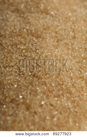 Brown sugar background- close-up