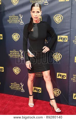 BURBANK - APR 26: Kelly Monaco at the 42nd Daytime Emmy Awards Gala at Warner Bros. Studio on April 26, 2015 in Burbank, California