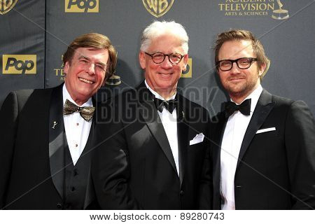 BURBANK - APR 26: David Michaels, Bob Mauro at the 42nd Daytime Emmy Awards Gala at Warner Bros. Studio on April 26, 2015 in Burbank, California