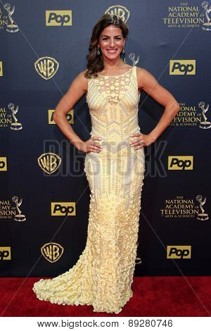 BURBANK - APR 26: Renee Marino at the 42nd Daytime Emmy Awards Gala at Warner Bros. Studio on April 26, 2015 in Burbank, California
