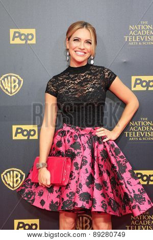 BURBANK - APR 26: Chrishell Stause at the 42nd Daytime Emmy Awards Gala at Warner Bros. Studio on April 26, 2015 in Burbank, California