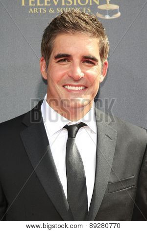 BURBANK - APR 26: Galen Gering at the 42nd Daytime Emmy Awards Gala at Warner Bros. Studio on April 26, 2015 in Burbank, California